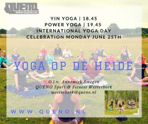 Yin Yoga & Poweryoga op de heide @ QUENO Sport & Fitness