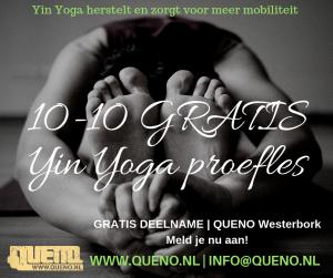 Yin Yoga gratis proefles
